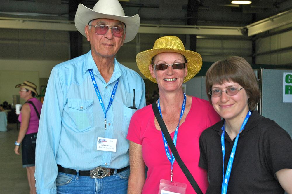 2012 - Blueberry Volunteers