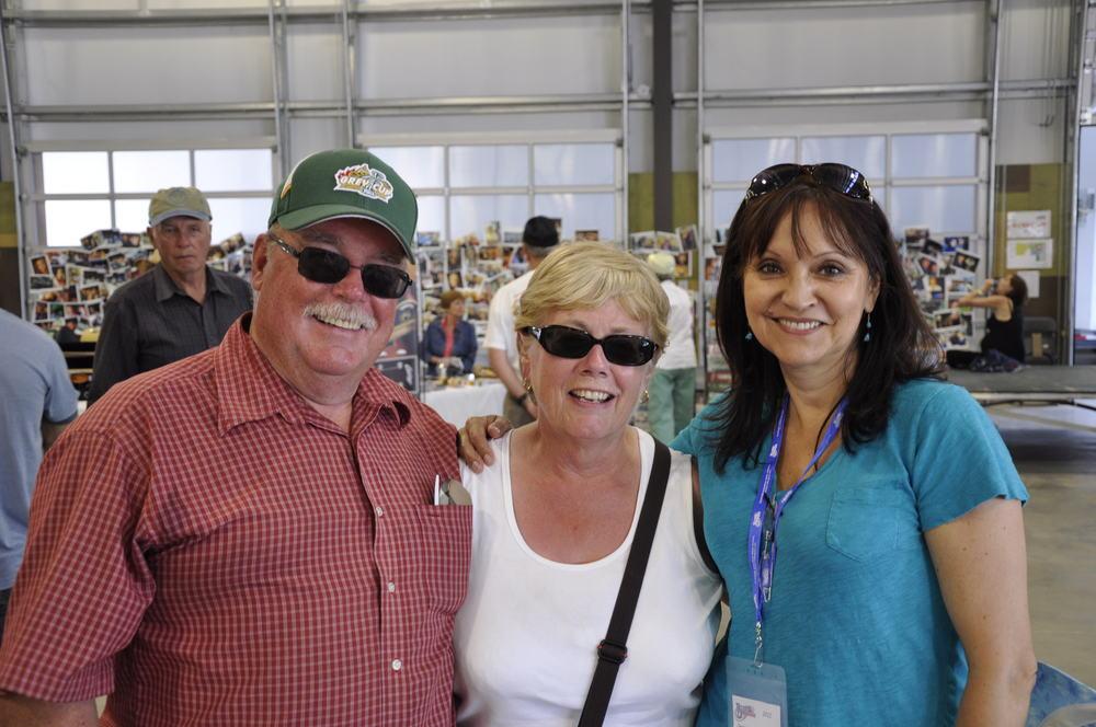 2012 - Dale & Karen Jolly with Prairie Sky's Jeannette Sinclair