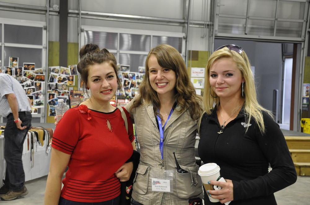 2012 - Kayla Hotte, Erin Kushniruk & Justine Larsgard