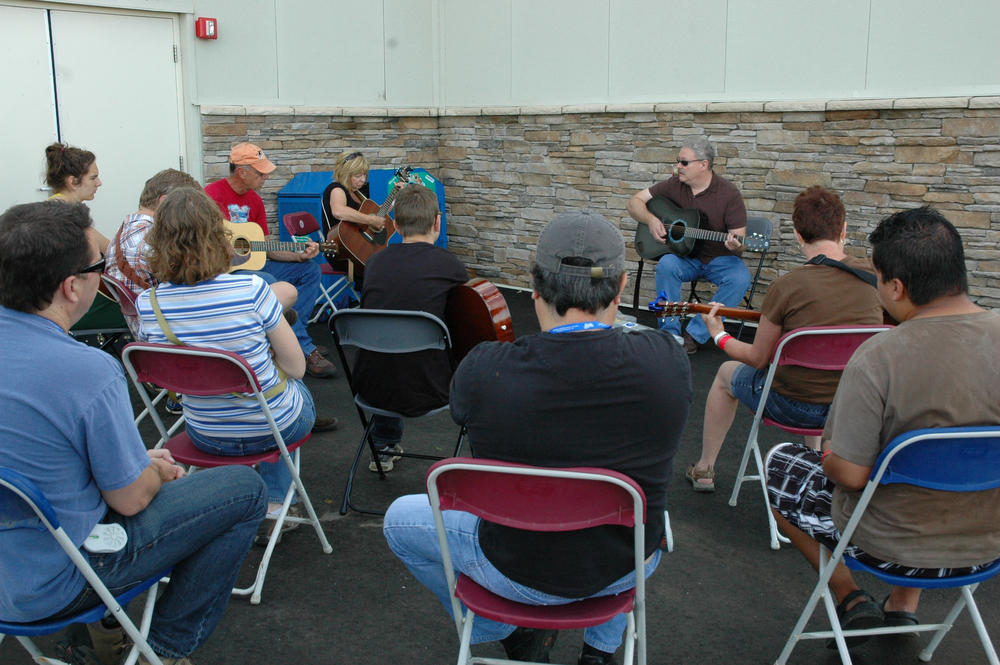 2012 - Guitar Workshop hosted by Tim Stafford of Blue Highway