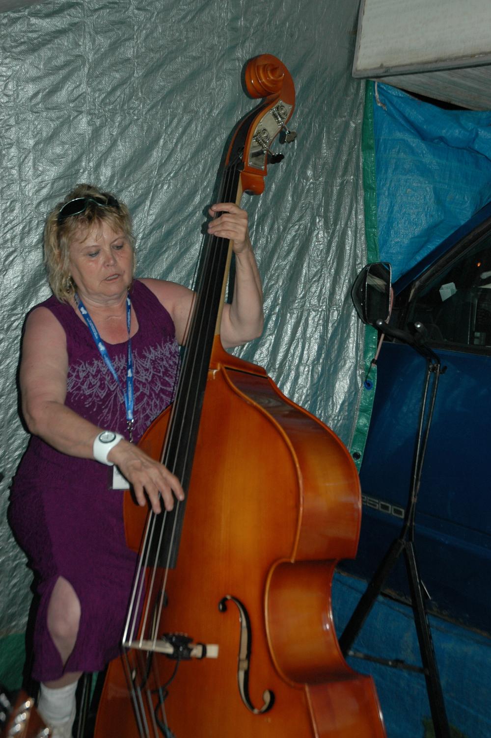 2012 - Carol Newlove - Campsite Jamming