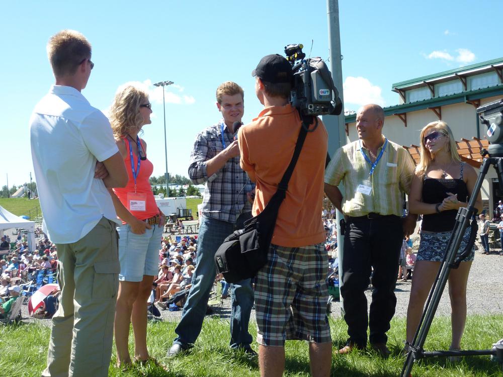 2012 - The Larsgard Family TV Interview