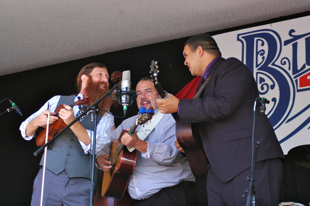 2012 - Daniel Foulks, Mark Phillips, Michael Morrison - Mark Phillips & IIIrd Generation Bluegrass Band