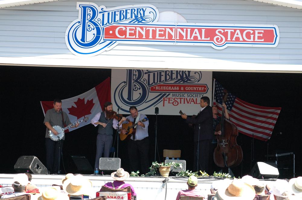 2012 - Mark Phillips & IIIrd Generation Bluegrass Band