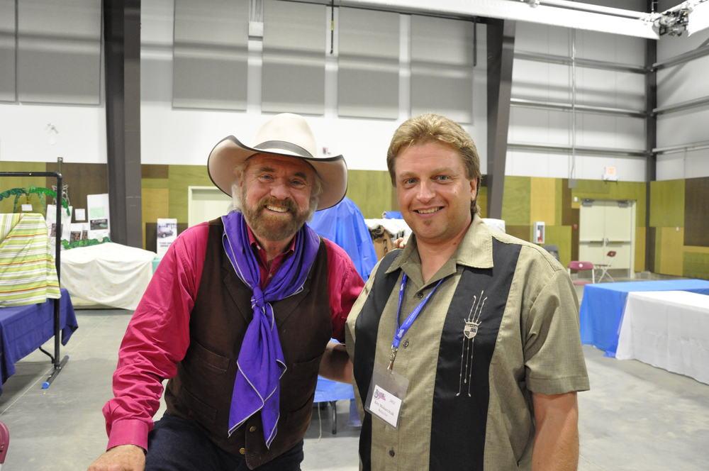 2012 - Michael Martin Murphey & Kenny Mak (Blueberry Webmaster & Prairie Sky Bassist)