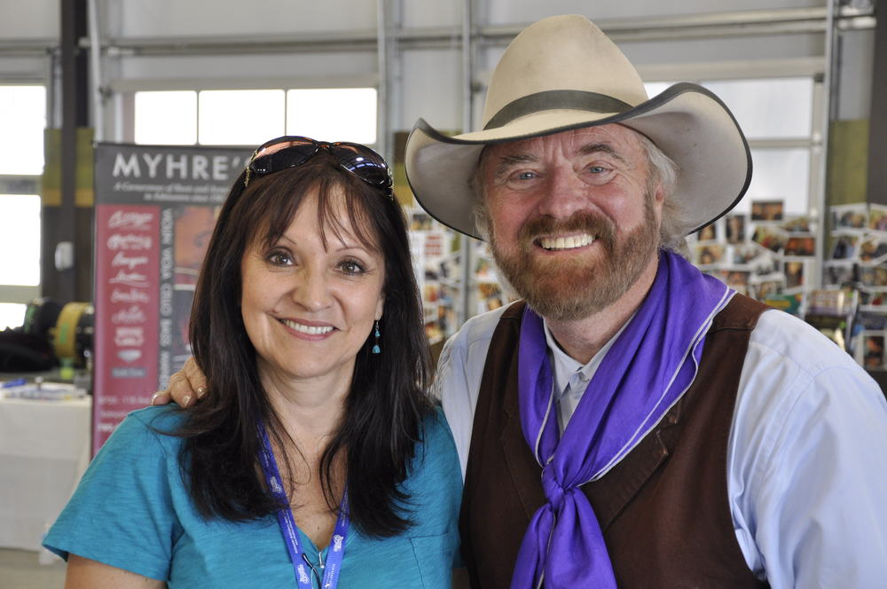 2012 - Jeannette Sinclair of Prairie Sky with Michael Martin Murphey