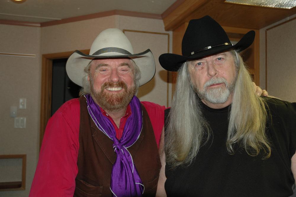 2012 - Michael Martin Murphey & Blueberry President Norm Sliter