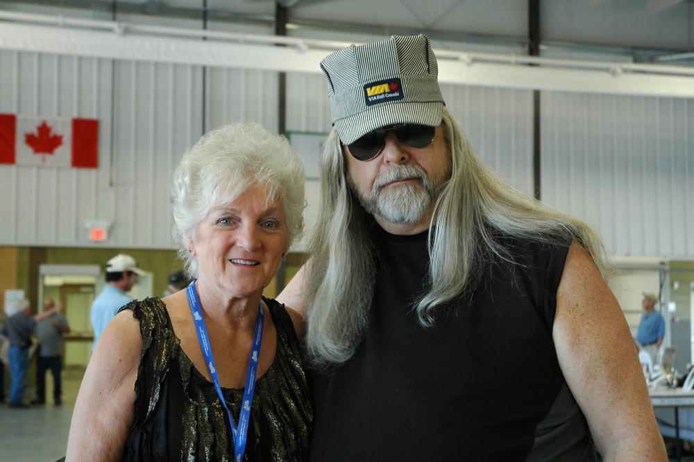 2012 - Carolyn Vincent & Blueberry President Norm Sliter