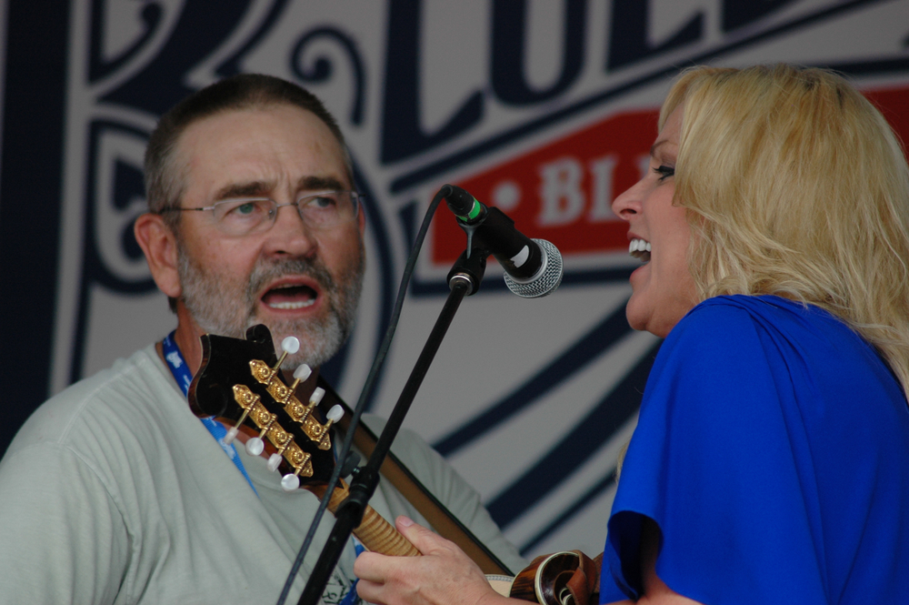 2012 - Blueberry Entertainment Director Pat Guidera & Rhonda Vincent