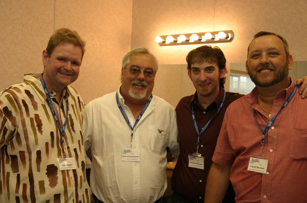 2008 - Don Rigsby, Dale Vanderpool, Robert Maynard & Clyde Marshall - Don Rigsby & Midnight Call