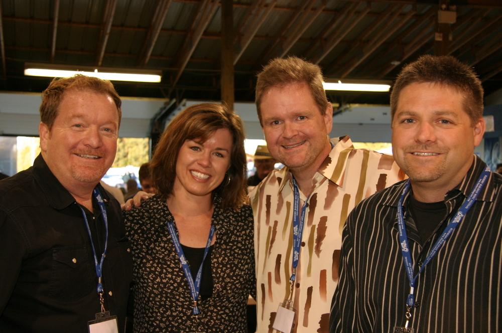 2008 - Lou & Christy Reid, Don Rigsby & Trevor Watson