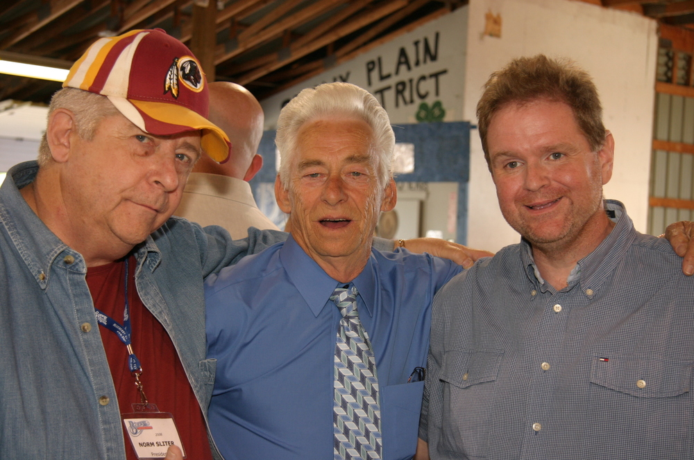 2008 - Blueberry President Norm Sliter with Kenny Cantrell of Cedar Hill & Don Rigsby