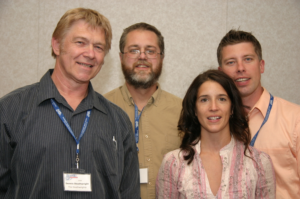 2008 - Dennis Douthwright, Andrew Conte, Nadine Douthwright & Shane Douthwright