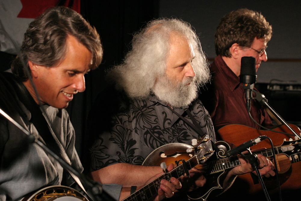 2008 - Keith Little, David Grisman & Jim Nunally of David Grisman Bluegrass Experience