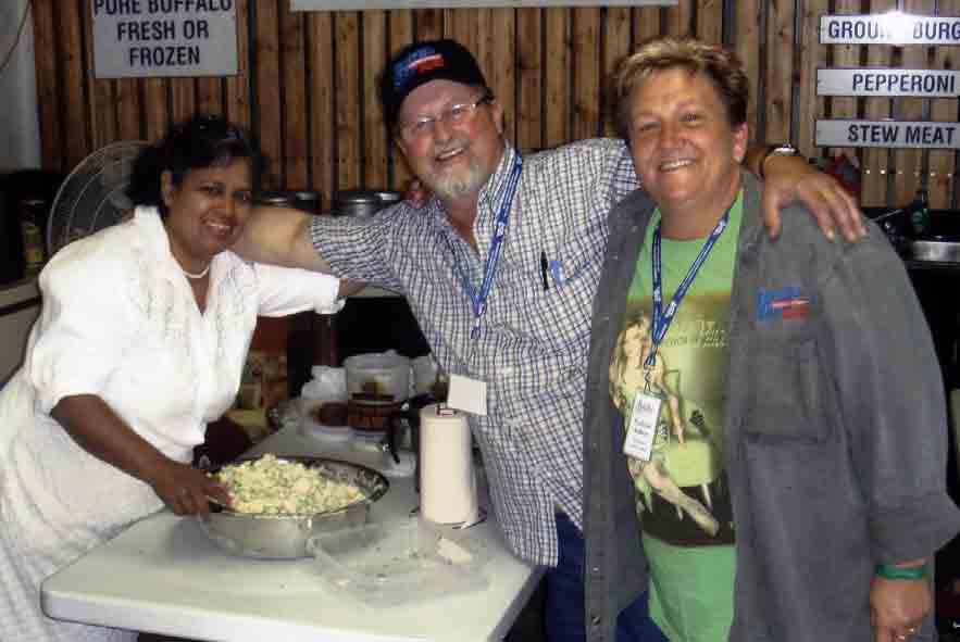 2008 - Shirley, Bernie & Francie - Blueberry Volunteers