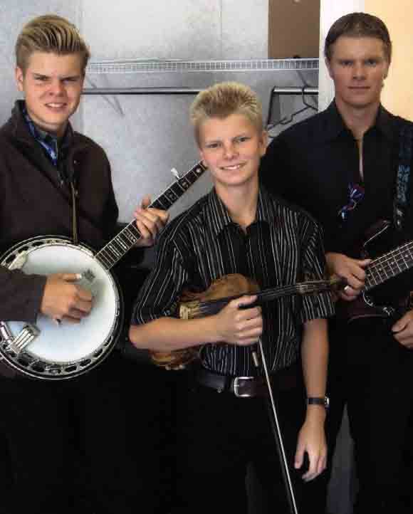 2008 - Davin, Levi & Nathan of the Larsgard Family