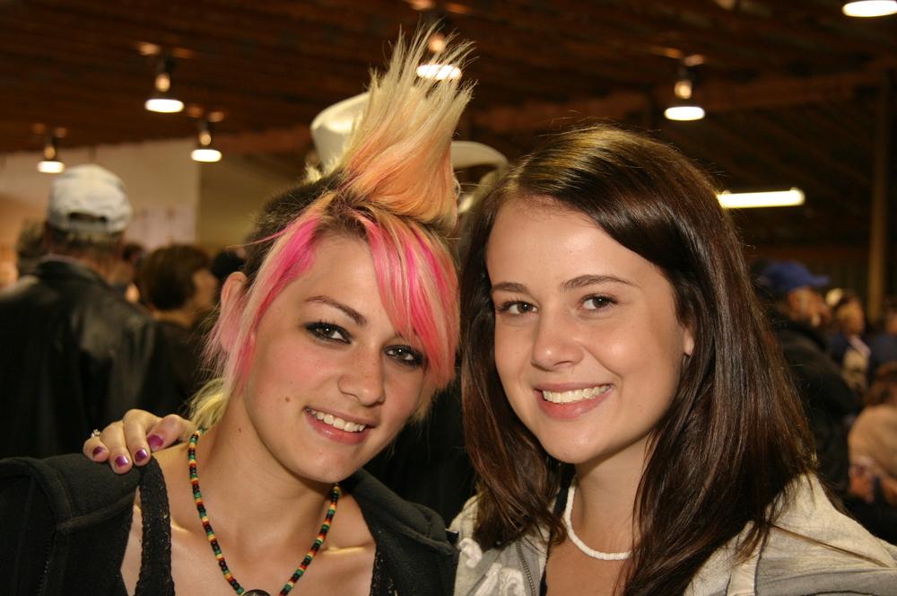 2008 - Kayla Hotte & Erin Kushniruk