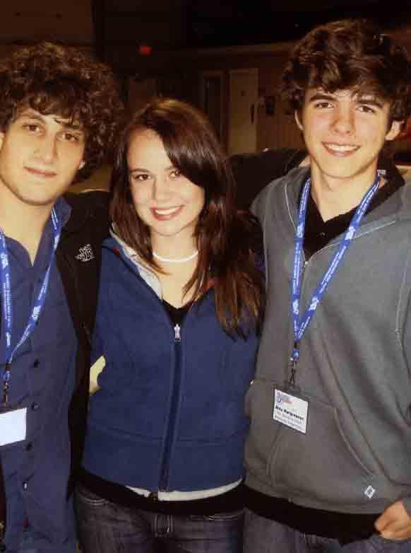 2008 - Samson Grisman, Erin Kushniruk & Alex Hargreaves