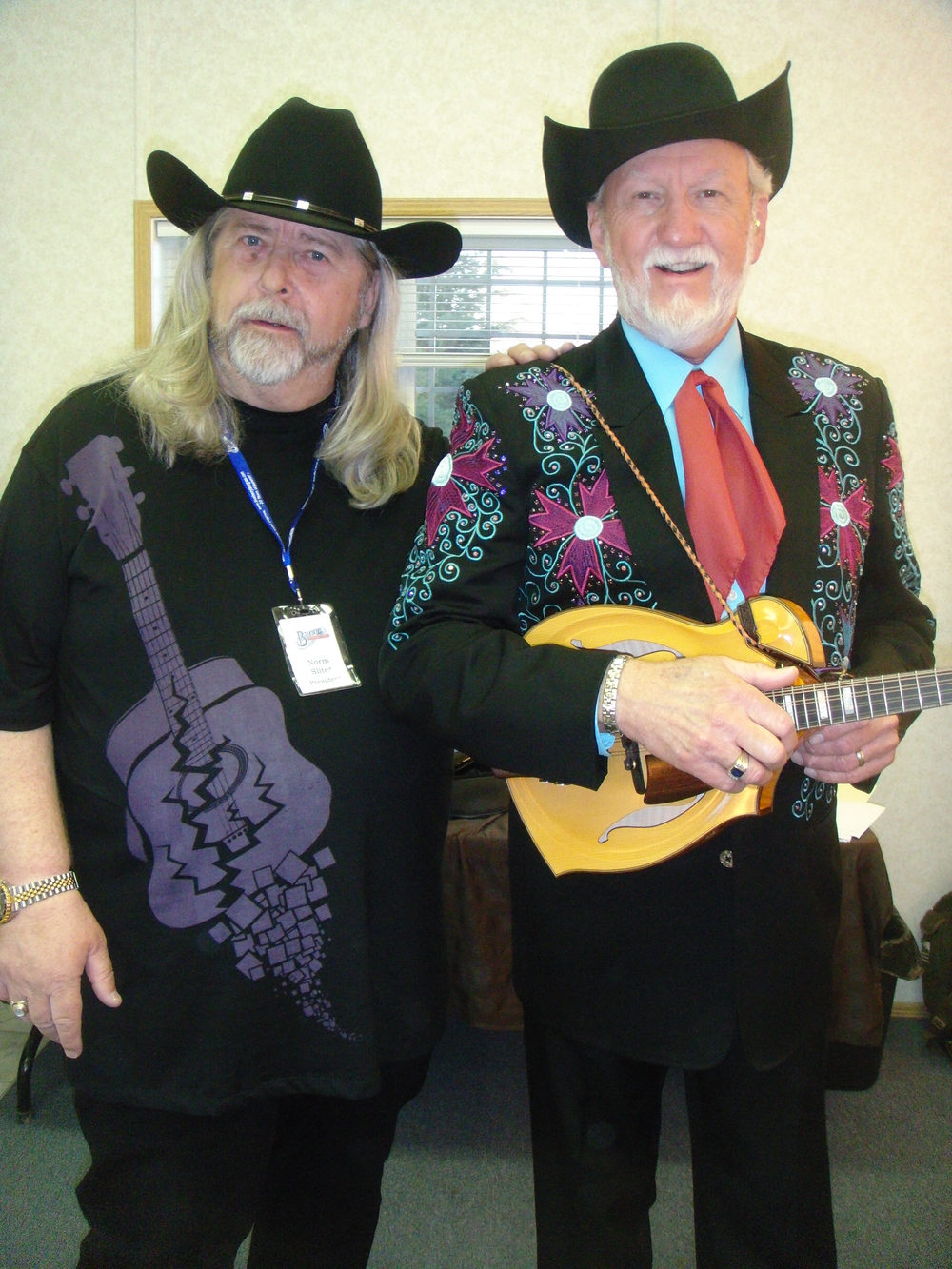 2011 - Blueberry President Norm Sliter & Doyle Lawson