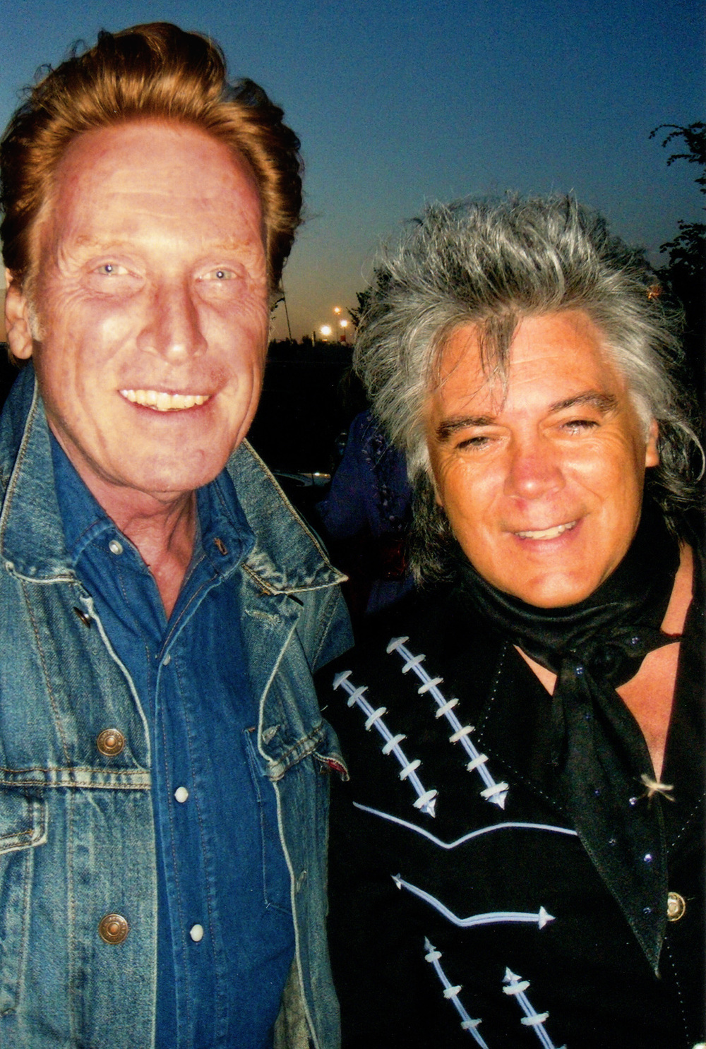 2011 - Russell DeCarle of Prairie Oyster & Marty Stuart