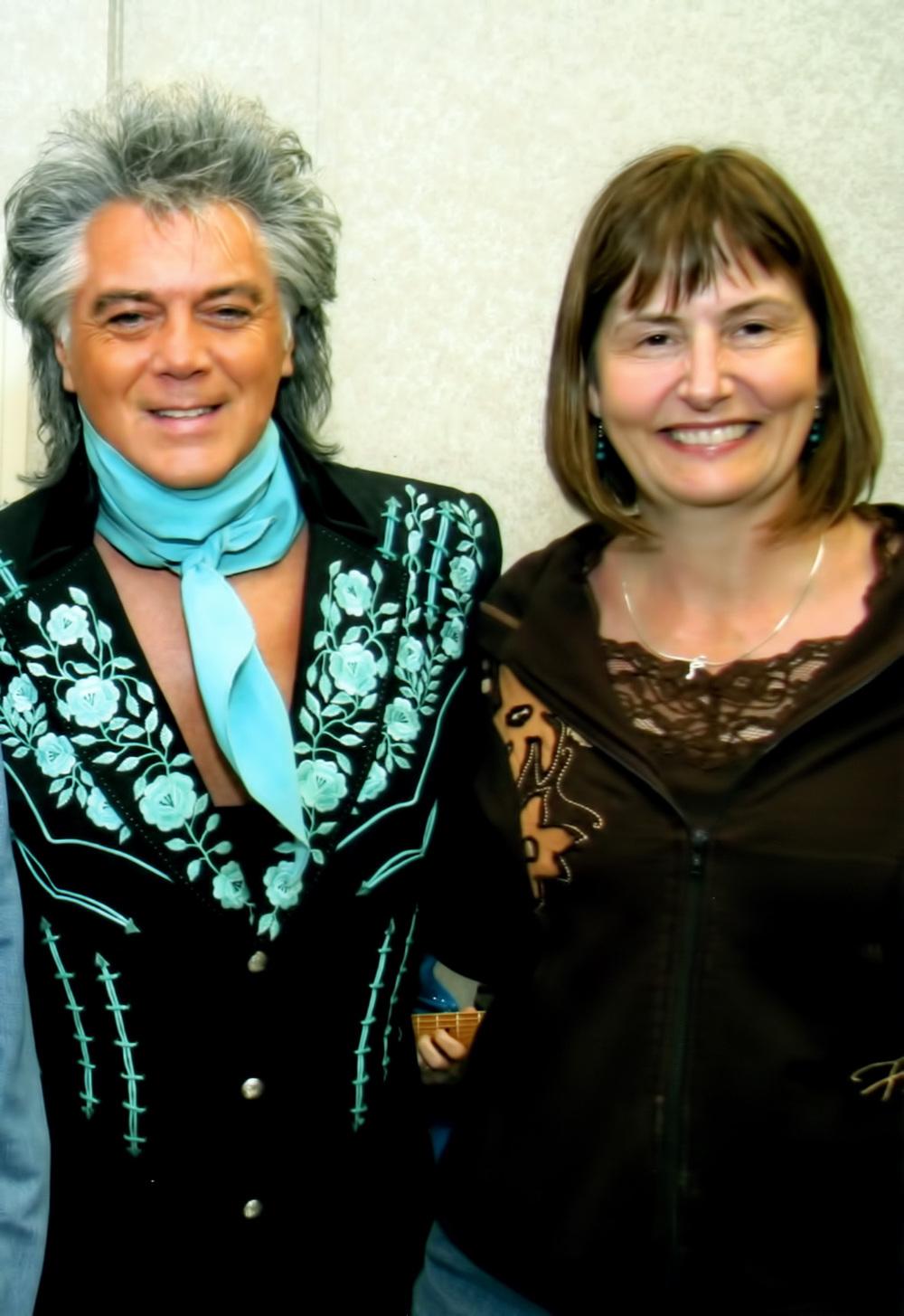 2011 - Marty Stuart & Blueberry Treasurer Sheila Hallett