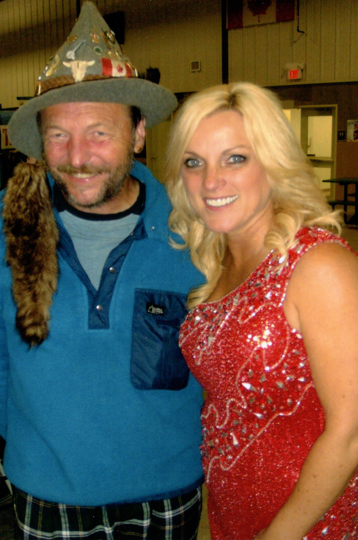 2012 - A Fan with Rhonda Vincent