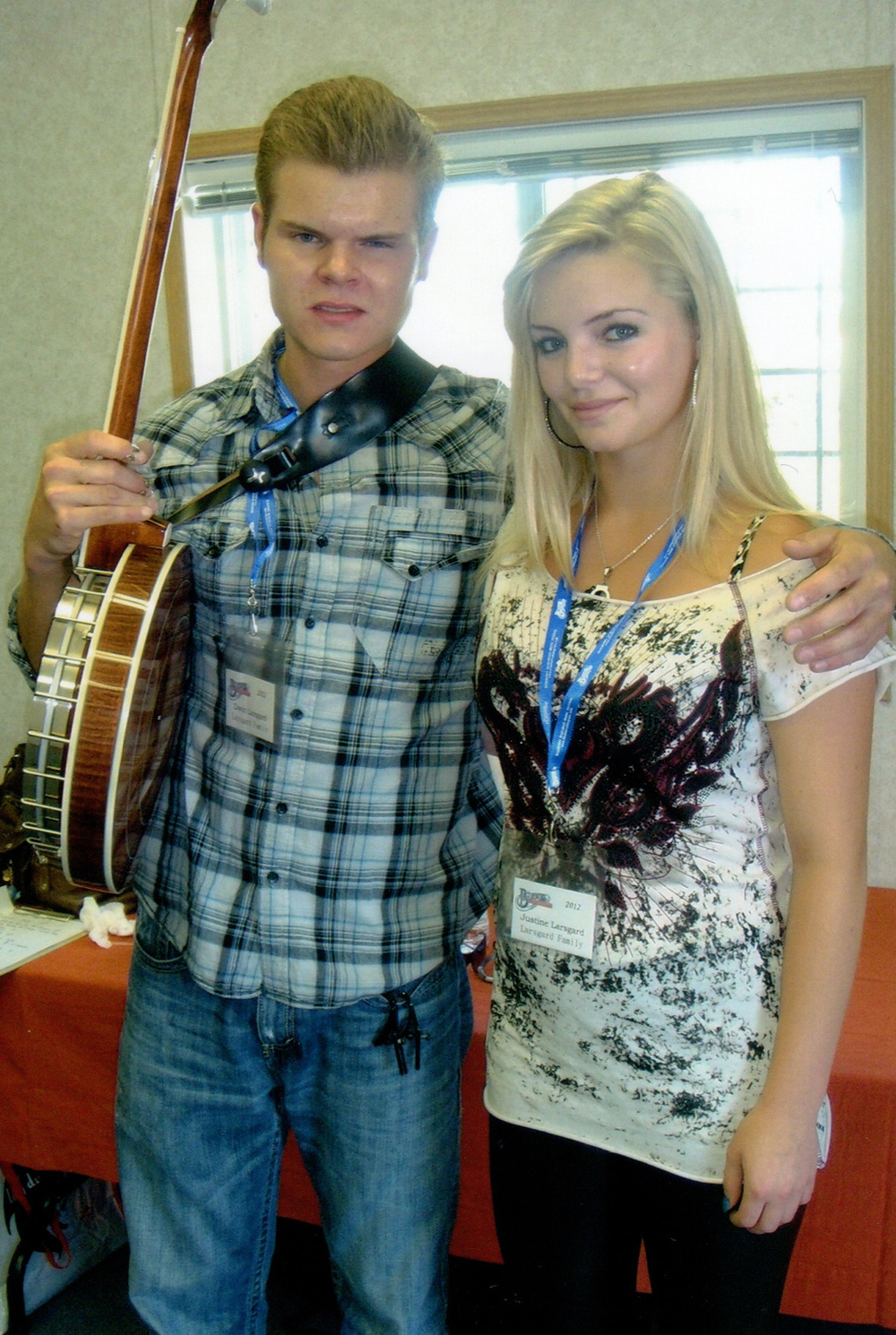 2012 - Davin & Justine Larsgard