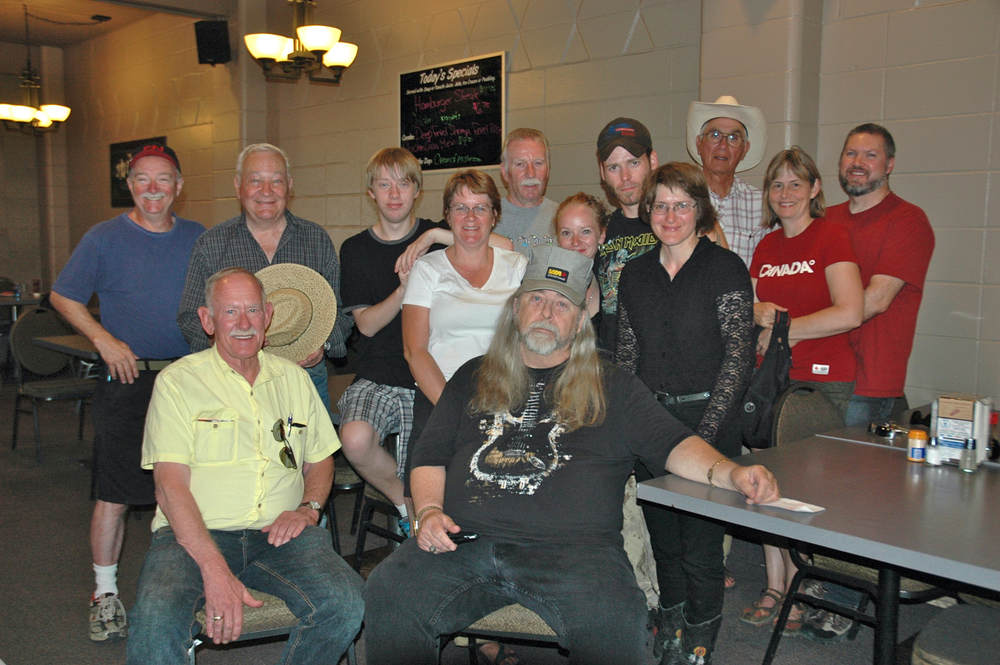 2012 - Some of the Blueberry Volunteers