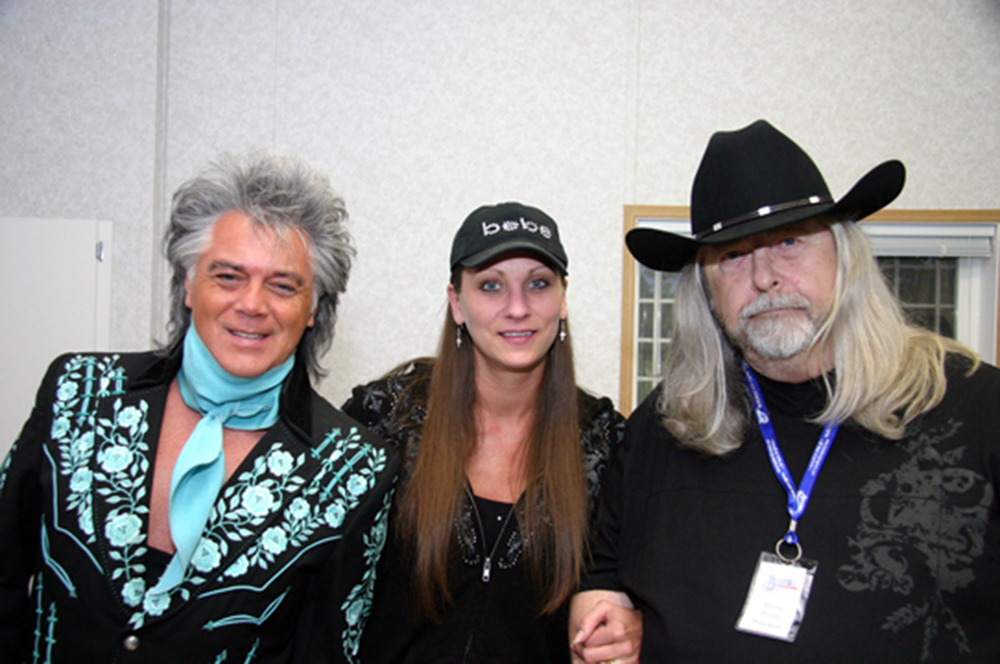 2011 - Marty Stuart, Cindy Lennon & Blueberry President Norm Sliter