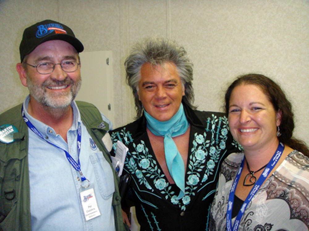 2011 - Pat Guidera (Blueberry Entertainment Director), Marty Stuart & Michelle Dentinger Guidera