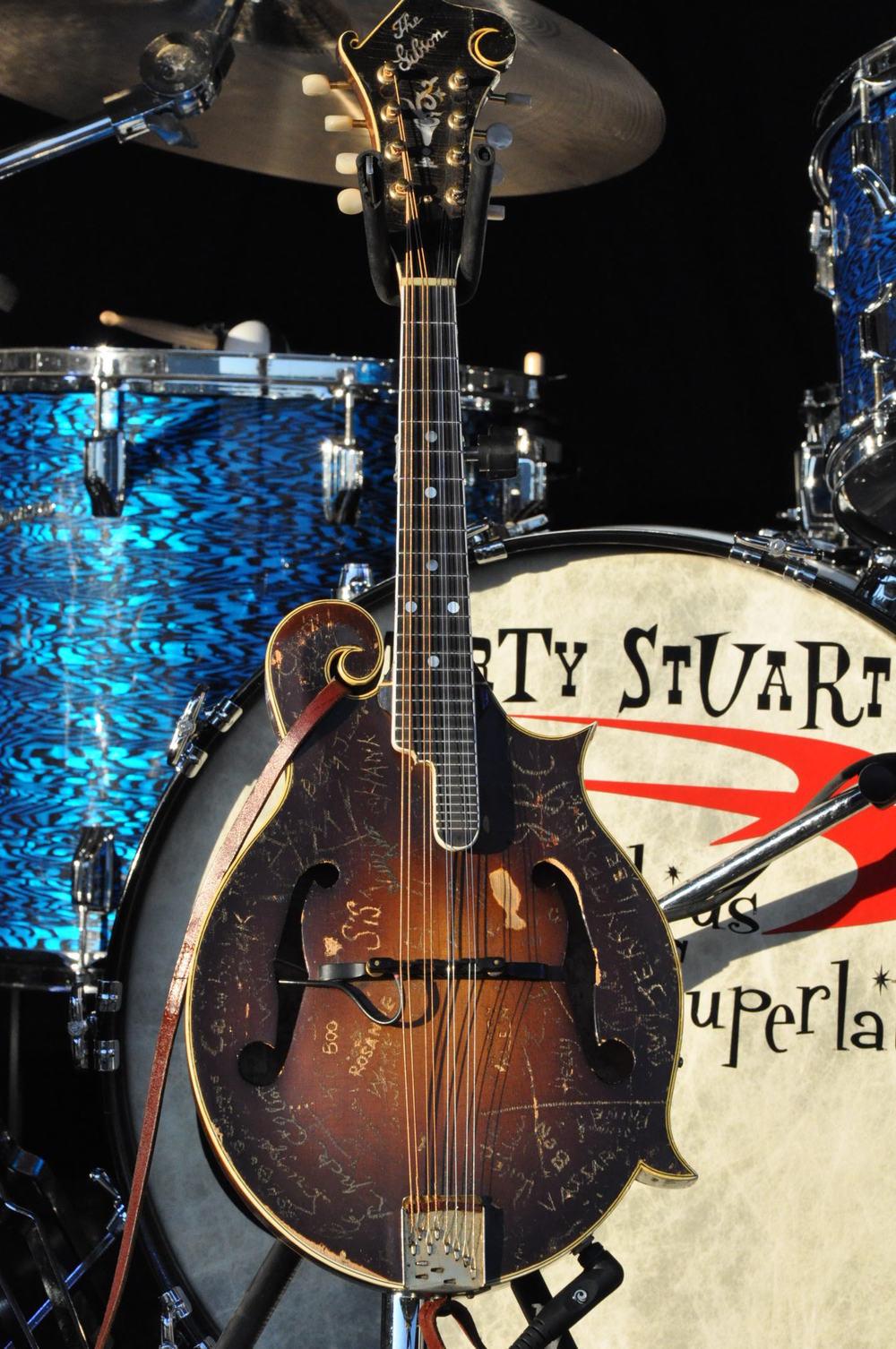 2011 - Marty Stuart's famous mandolin