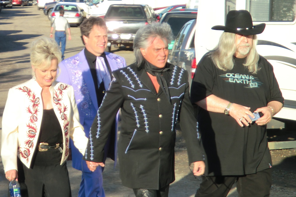 2011 - Connie Smith, Marty Stuart, Paul Martin & Blueberry President Norm Sliter