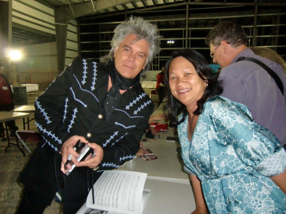 2011 - Marty Stuart & Blueberry Volunteer Joy