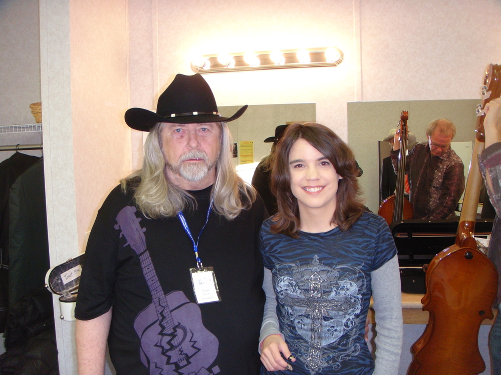 2011 - Blueberry President Norm Sliter with Kristin Scott Benson of the Grascals