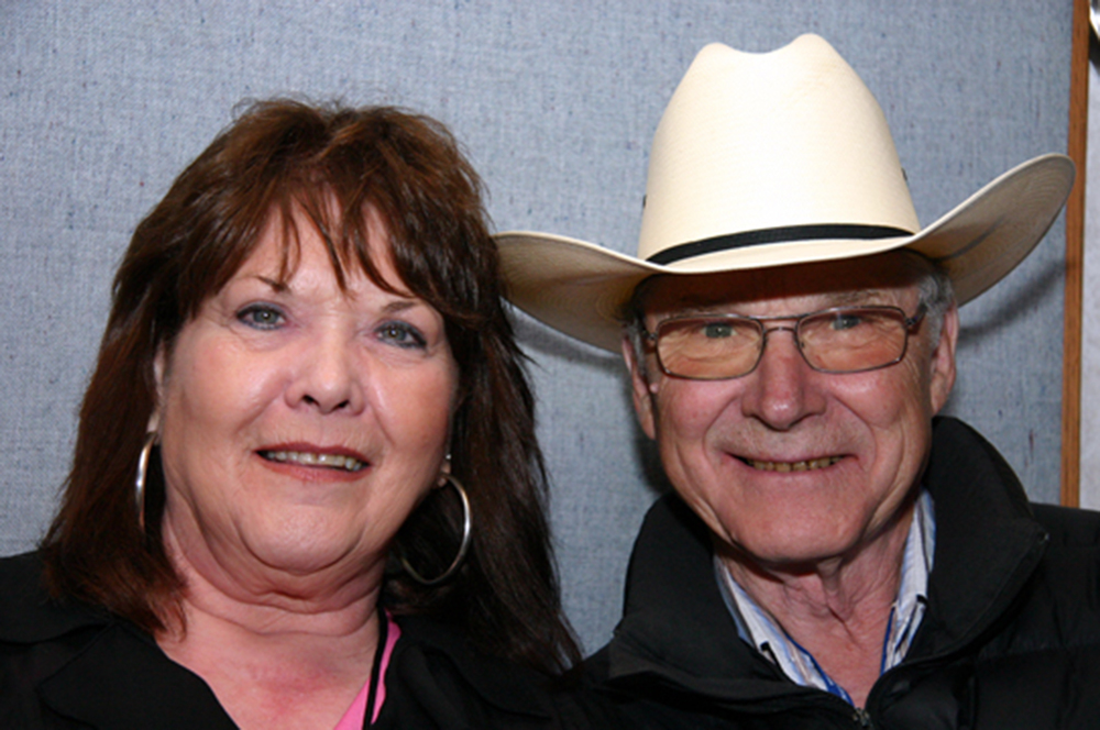 2011 - Joyce Smith & George Myren of the Canadian Country Music Legends