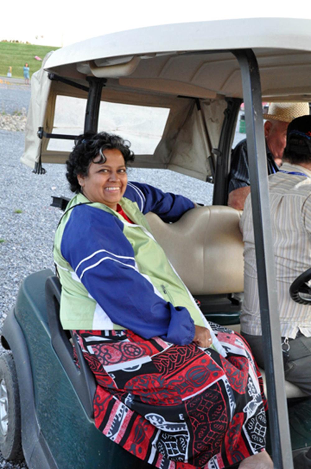 2011 - Hospitality Volunteer Shirley Johnson