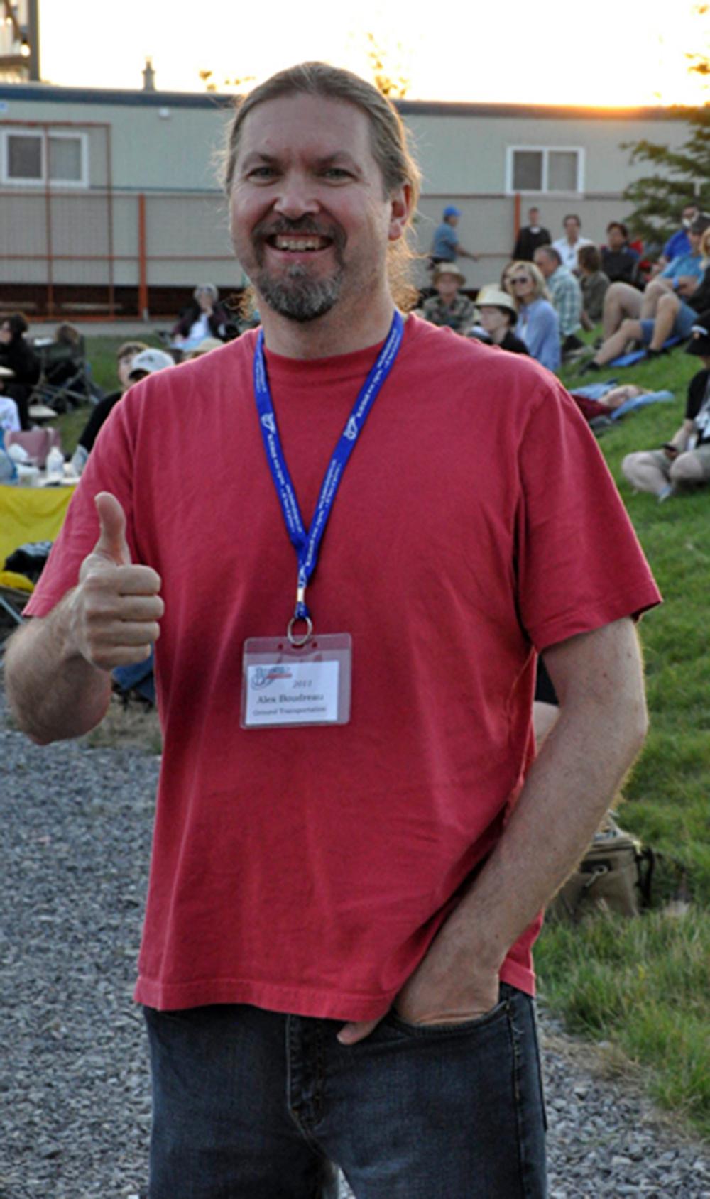 2011 - Volunteer Driver Alex Boudreau