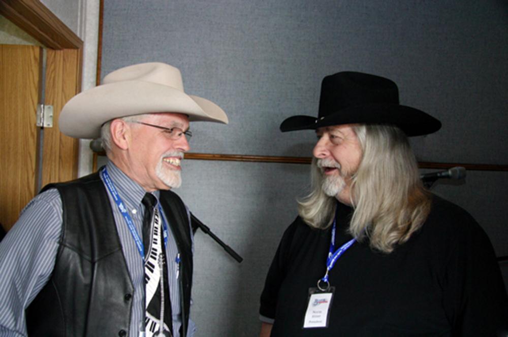 2011 - George McKnight & Blueberry President Norm Sliter