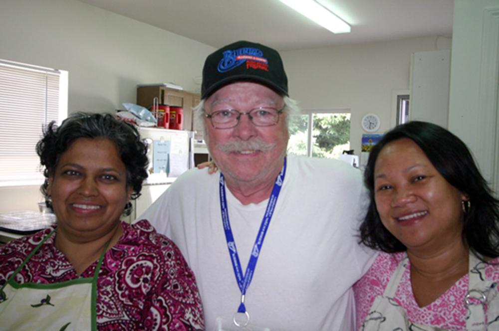 2011 - Blueberry Volunteers Shirley, Dan & Joy