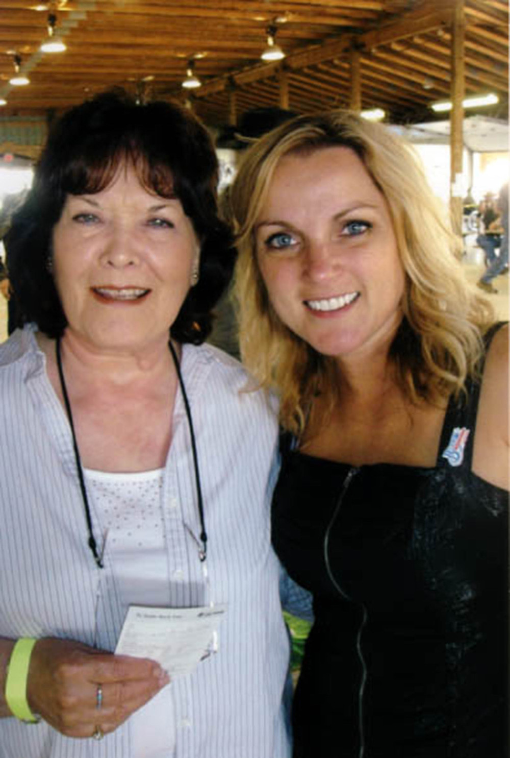 2010 - Joyce Smith (Alberta Country Music Legends) with Rhonda Vincent