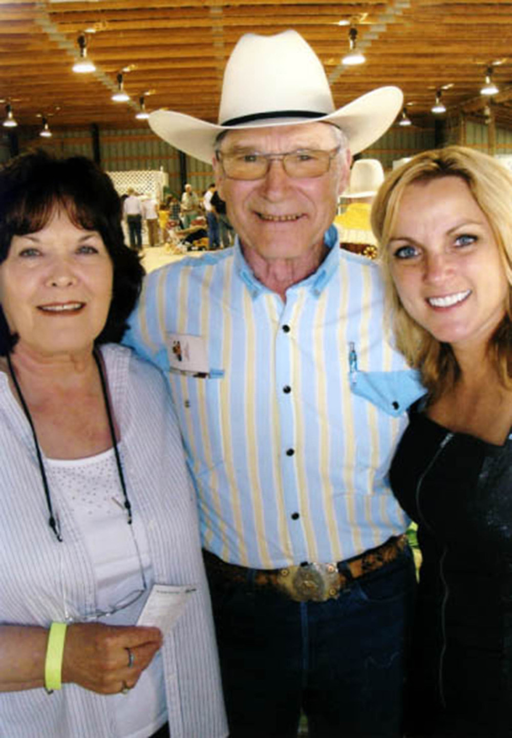 2010 - Joyce Smith & George Myren (Alberta Country Music Legends) with Rhonda Vincent