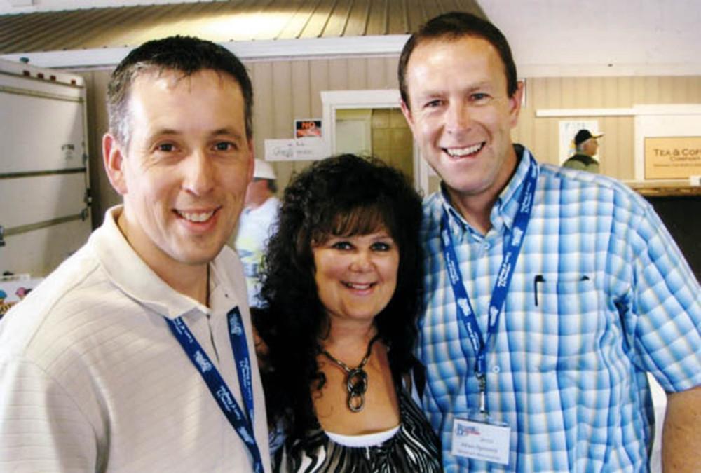 2010 - Gary Dalrymple, Lynn & Allan Spinney