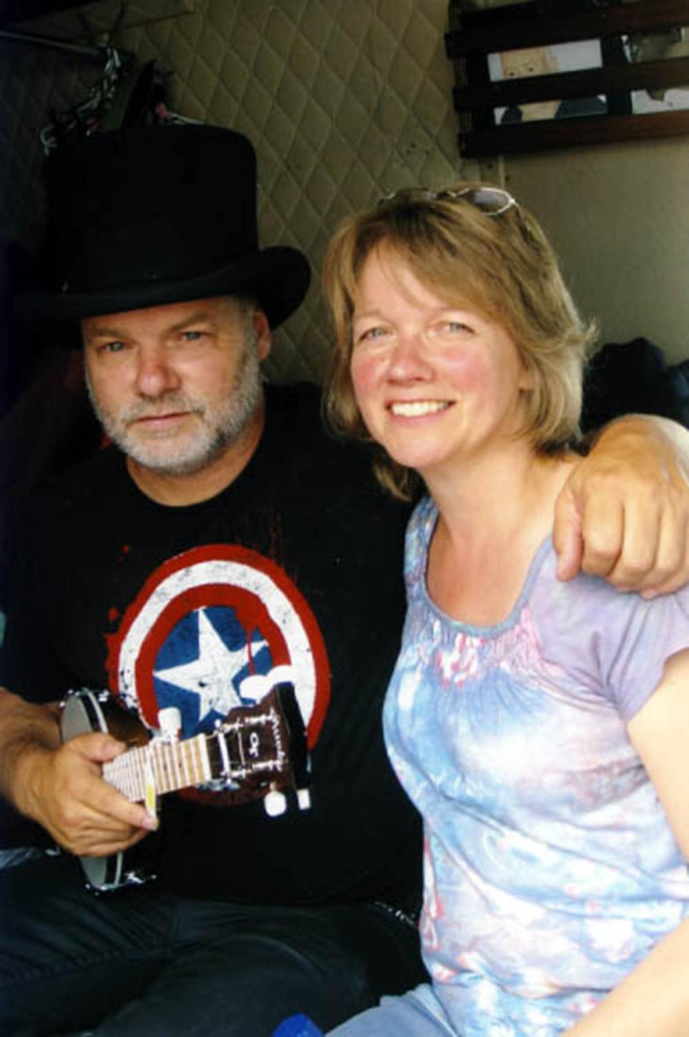 2010 - Fred Eaglesmith with Edmonton based recording artist Cathy Kowalski