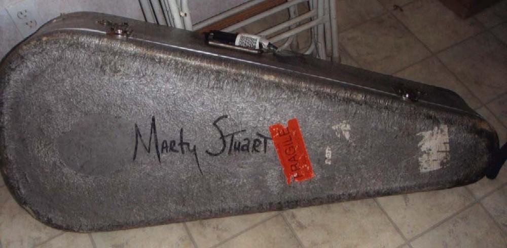 2009 - Marty Stuart's mandolin case