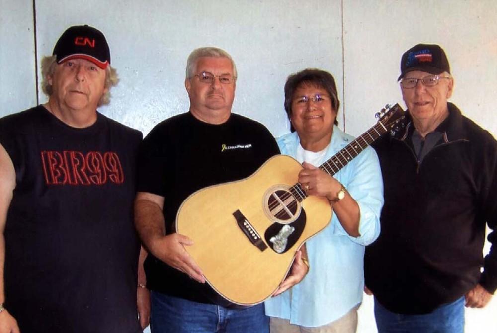 2009 - Martin Guitar Raffle winner with Norm Sliter & Dave Johnston