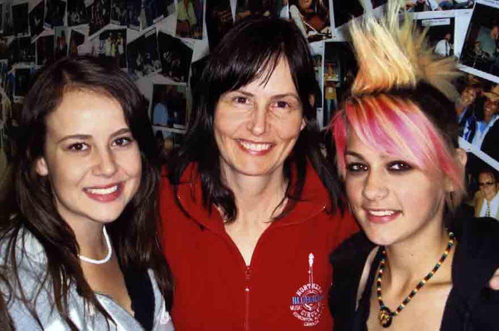 2008 - Erin Kushniruk, Sheila Hallett & Kayla Hotte