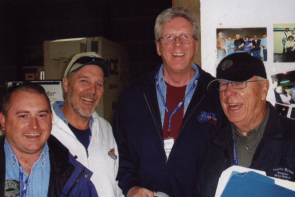 2007 - Bobby Vickery, Kenny Pabst & Steve Gilmore of High Plains Tradition with Blueberry Entertainment Director Dave Johnston