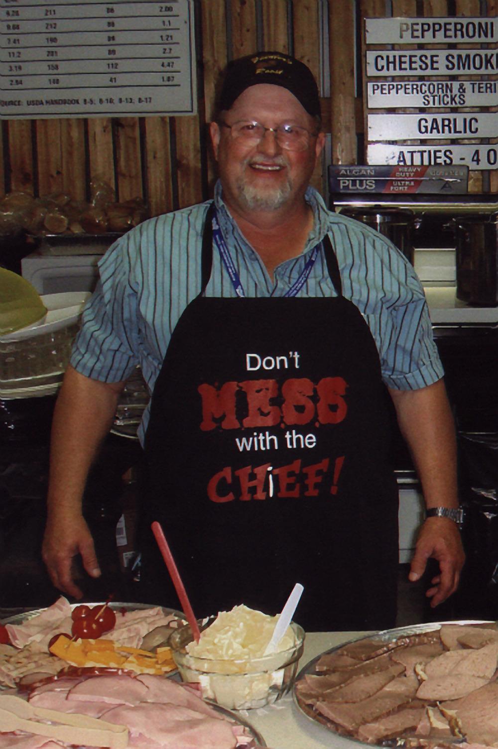 2007 - Hospitality Director Bernie MacLellan