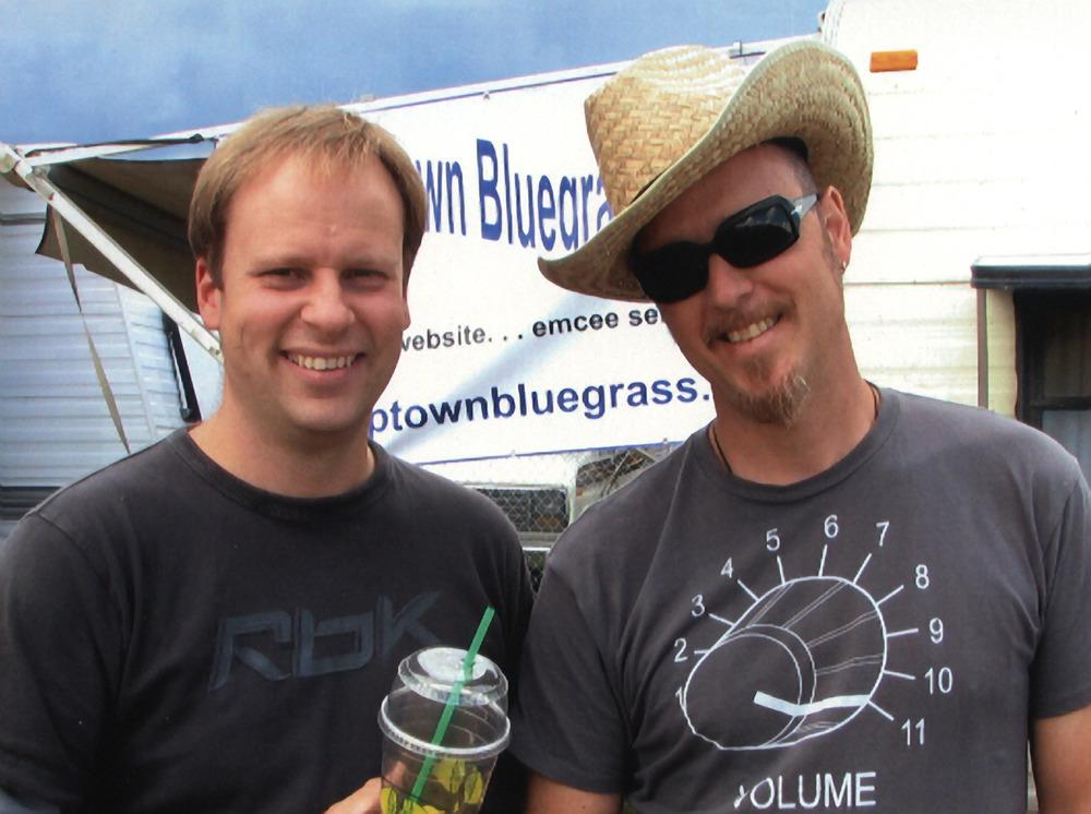 2007 - Byron Myhre & a friend