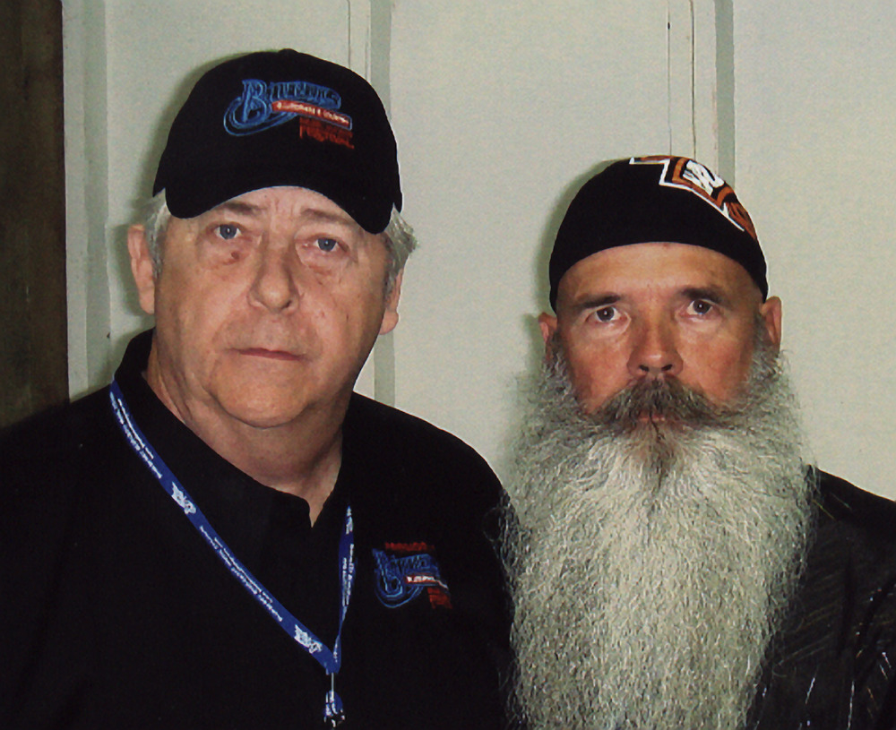 2007 - Blueberry President Norm Sliter with Jere Cherryholmes